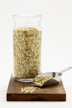 Whole oats have fiber and so much more.
