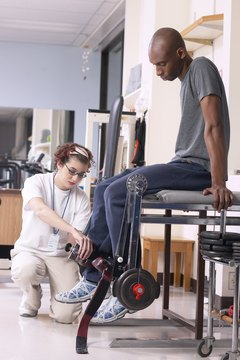 Rehabilitation and physical therapist