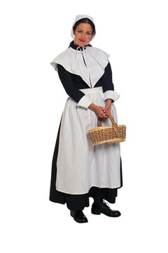 Puritans railed against excess, including dress, leading to their reputation for modest clothing.