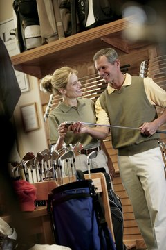 Golf club manufacturers recognize the physical differences between the sexes and engineer equipment which accounts for those differences.