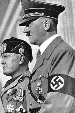 Although sympathetic to Adolf Hitler and Benito Mussolini, Spain's dictator did not openly enter World War II.