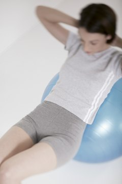 The stability ball engages both your abdominal stabilizers and mobilizers.