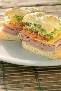 A ham and cheese sandwich is good for your bones but not for your heart.