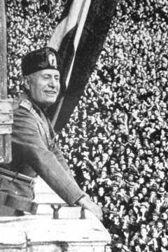 Benito Mussolini led Italy into war in June 1940.