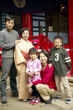 Most Japanese families practice both Buddhism and Shinto.
