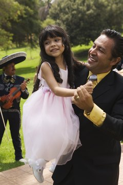 Family and friends help plan and pay for Mexican Catholic weddings.