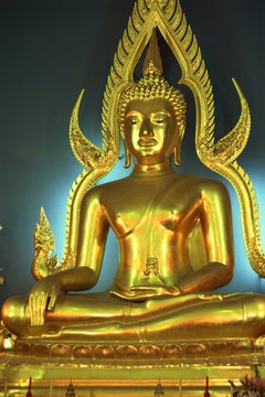 Buddhism is filled with images of the Buddha and other deities.