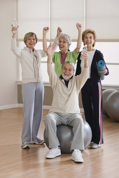 Senior centers often hold exercise classes.