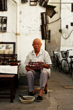 The abacus may or may not be of Chinese origin.