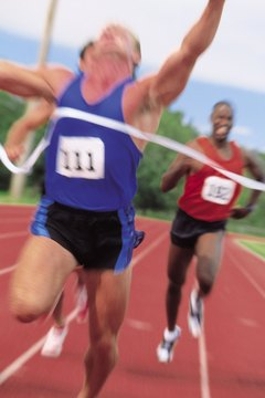 Becoming a faster sprinter requires effort and technique.