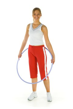 You can Hula Hoop your way to a better body.