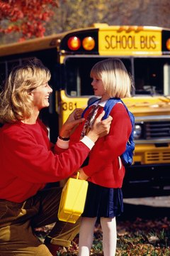 Letting a school bus driver know about your concerns is critical.