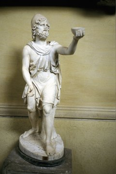 During Odysseus' travels, he spent seven years with the goddess Calypso.