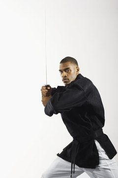 Ninjutsu teaches weaponry and hand-to-hand combat skills.