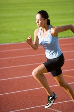 Sprinting is great for core muscles.