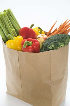 Buy plenty of fresh fruits and vegetables to make sure you always have them available.