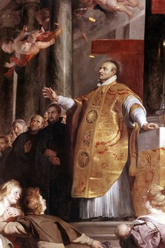 St. Ignatius Loyola encouraged visualization while praying the holy rosary.