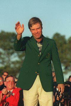 The highlights of Ben Crenshaw's golf collection may be the two green jackets he earned for winning the Masters.