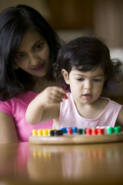 A Montessori teacher is less of a wrangler and more of a guide or facilitator.