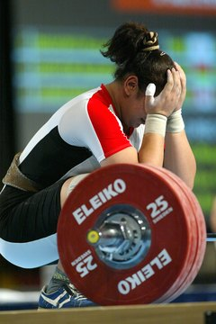 Strive to lift heavier weights each workout.