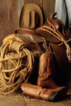 A lasso is always part of a cowboy's gear.