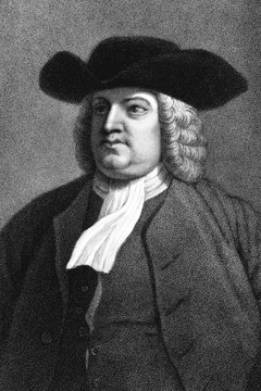 William Penn (1644-1718) established the Quaker colony of Pennsylvania in 1681.