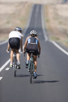 A good bicycle trainer can mimic the feel of riding on the road.