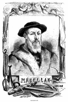 Ferdinand Magellan discovered a strait connecting the Atlantic to the Pacific Ocean.