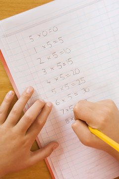 Learning multiplication strategies enables you to multiply in your head faster than you can multiply on paper.