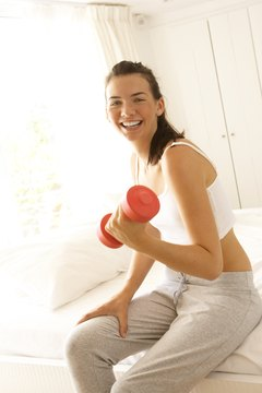 A good workout schedule includes cardio and strength training.