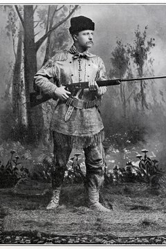 Roosevelt's association with Cuba began as an American Rough Rider during the Spanish-American War.