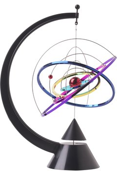 Although not the same as the sun and planets, an atom has a central core with electrons that travel around it.