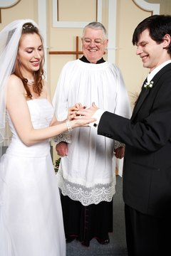 A wedding ceremony of 30 minutes takes much preparation on the part of the preacher.