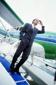 The IRS allows you to write off a small airplane as long as you use the plane for business.
