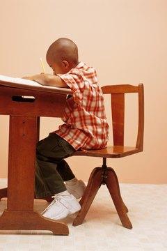 Standardized achievement tests measure a child's academic progress.