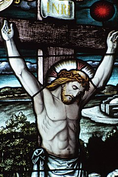 The crucifixion and resurrection of Jesus Christ are key doctrines in Catholic belief.