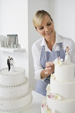A degree in culinary arts focusing on baking prepares chefs to create pastry arts such as wedding cakes.