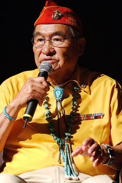 Veteran Navajo code-talker Dr. Samuel Billison discusses his work at a Library of Congress historical program.