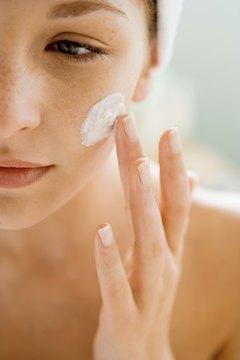 Moisturizer is key to attaining soft skin.
