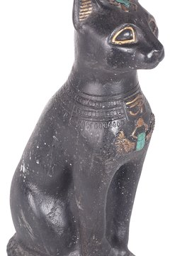 Bronze statues of cats have survived thousands of years to testify to the importance of felines in ancient Egyptian culture.