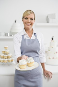 Pastry chefs often find work with bakeries and caterers.