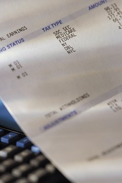 A payday loan application asks for information from recent paycheck stubs.