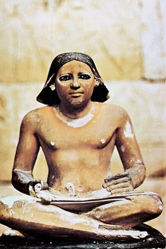 Ancient Egyptians sometimes used everyday objects as forms of money.