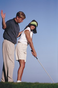 Some golf professionals instruct players on swing techniques, but that is just one of their many possible duties.