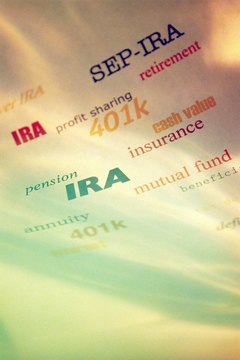 Various types of retirement accounts each have different tax advantages.