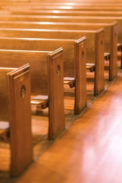 The IRS allows you to deduct certain church donations.