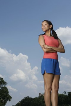 Setting challenging goals improves exercise results.