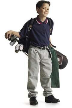 Buying clubs for your young golfer should focus on fit.