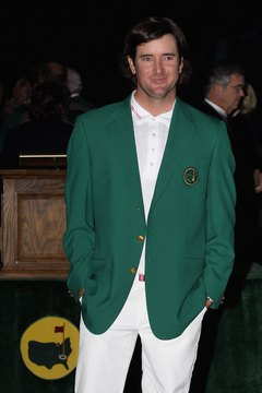 Bubba Watson earned plenty of green for winning the 2012 Masters. He received 18 percent of the event's $8 million purse -- $1.44 million.
