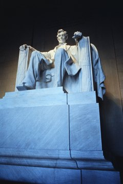 Abraham Lincoln was the nation's first Republican president, elected in 1860.